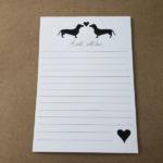 """A5 Notepad """"Dach Love"""""""